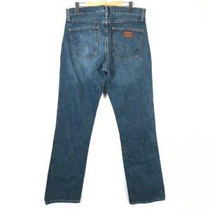 Wrangler slim boot jeans 32x36 *tall